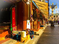 Barkhor street, Lhasa