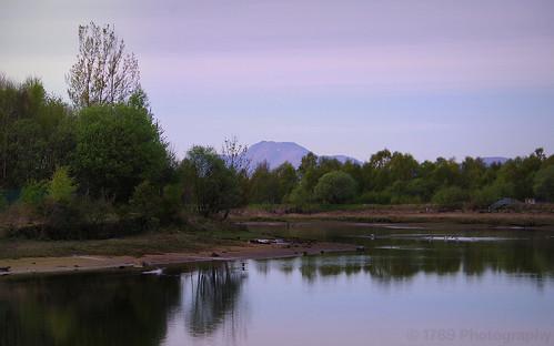 River Leven and Ben Lomond