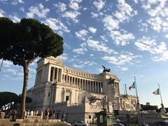Monumento a Víctor Manuel II. Roma (Italia).