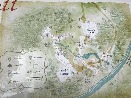 Map of Rivendell