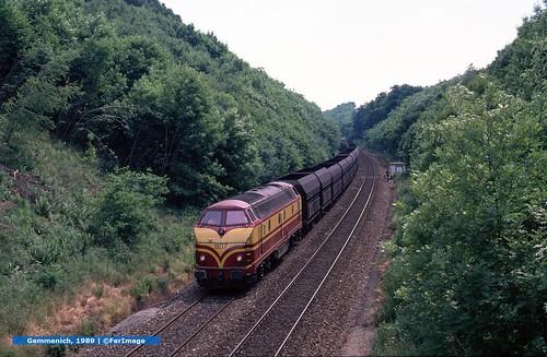 Coke train  |  Gemmenich