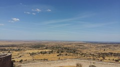 Vistas panorámicas desde el Castillo de Trujillo (Cáceres).