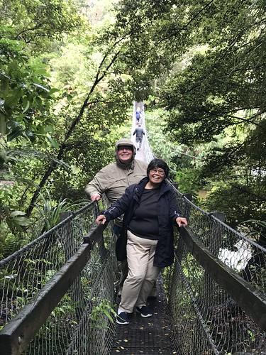 John and Loretta on the Bridge