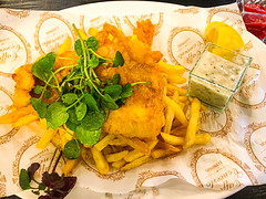 Fish and chips, London, England