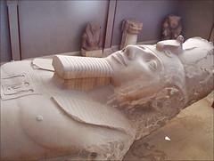Le Colosse de Ramsès II (Memphis, Égypte)