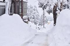 Snow tunnels in Myoko