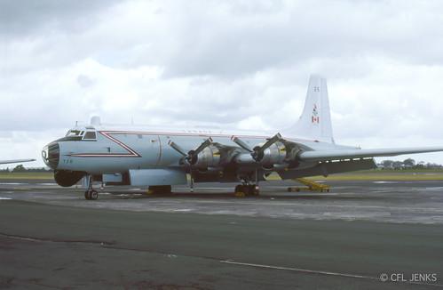 4-5 November 1978, Fincastle Trophy participant - RCAF Canadair Argus 10726