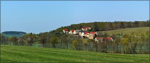 Blick auf Golk und den Eckhardsberg