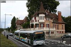 Heuliez Bus GX 437 Hybride – Cars Lacroix / STIF (Syndicat des Transports d'Île-de-France) – Le Parisis n°1003