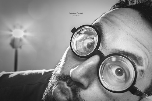 Damn striped lens|Novara|Italy