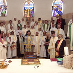 Here are the some of the many clergy from 17 denominations that came on the TLIG Pilgrimage