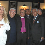 Vassula, Archbishop Mouallem, Bishop Riah, Mr. Akel Biltaji (Advisor to King Abdullah of Jordan)