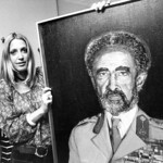Before Vassula's conversion and subsequent mission began she was an accomplished artist. Here she painted a portrait of His Imperial Majesty Haile Selassie of Ethiopia.