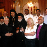 Vassula received by Patriarch Gregorios II from the Greek Melkite Church in Jordan