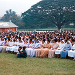 Mother Theresa's Sisters of Charity listening to Vassula's talk in India