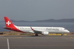Embraer 190AR of Helvetic