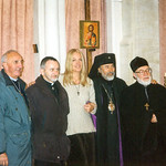 Orthodox and Catholic clergy with Vassula. 33+ years of constant travel has made this work known to a multitude worldwide