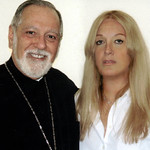 Vassula with Fr. Eugene Pappas, who in 2005 recieved an award from the New York Council of Churches for his work for unity.