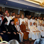 Vassula and various clergy from all around the world assembled together at the 2002 True Life in God Ecumenical Pilgrimage in Egypt