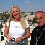 Vassula and Archbishop Sayah, Maronite Patriarch of Jerusalem
