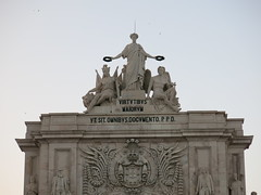 Triumphal Arch at the Commerce Square