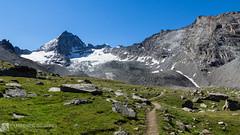 dal rifugio V. Sella al rifugio Chabod (5° giorno del trekking in Valle D'Aosta)