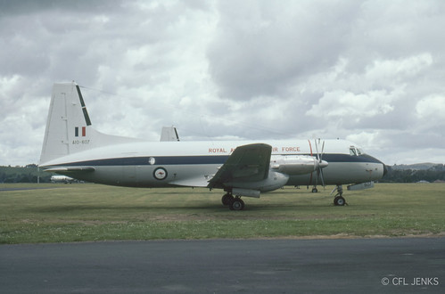 4-5 November 1978, Fincastle Trophy at Whenuapai, RAAF HS748 support aircraft A10-607