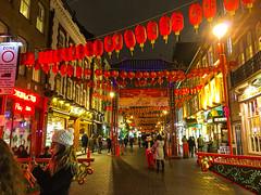China Town, London, England