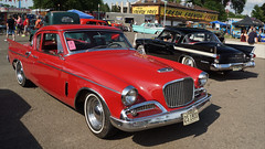 1960 (Red) & 1961 (Black) Studebaker Hawk