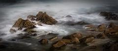 Spanish Bay Rocks in the Mist #2
