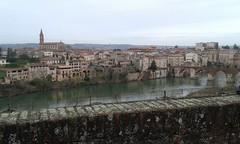 Vistas de Albi. Occitania (Francia).