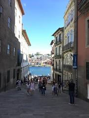 El Duero desde el centro de Porto. Porto (Portugal).