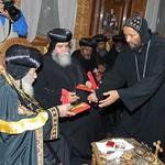 الراهب القمص حياة الأثيوبي المحرقي مع قداسة البابا شنودة (3)