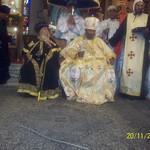 الراهب القمص حياة الأثيوبي المحرقي مع قداسة البابا شنودة وأبونا باولوس بطريرك أثيوبيا (13)