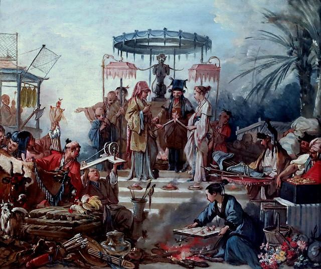 Photo:IMG_0106C BOUCHER : LE ROCOCO,  OU VERS LA REVOLUTION.  ROCOCO, OR TOWARDS THE REVOLUTION. By jean louis mazieres