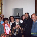 الراهب القمص حياة الأثيوبي المحرقي مع قداسة البابا شنودة (8)