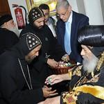 الراهب القمص حياة الأثيوبي المحرقي مع قداسة البابا شنودة (2)