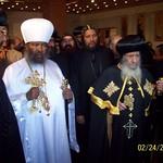 الراهب القمص حياة الأثيوبي المحرقي مع قداسة البابا شنودة وأبونا باولوس بطريرك أثيوبيا (6)