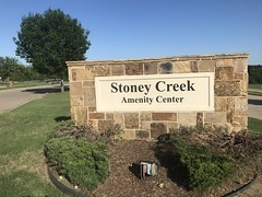 Stoney Creek Amenity Center Sign