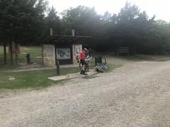 Squabble Creek Kiosk and Bike Tools