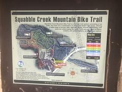 Squabble Creek Trail Map