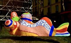 Stravinsky Fountain (1988) -  Niki de Saint Phalle (1930-2002)