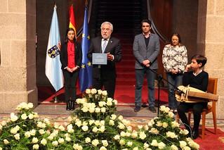 Homenaje a los deportados en el Parlamento de Galicia
