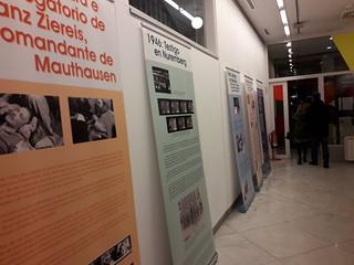 Inauguración exposición en A Coruña sobre Francesc Boix