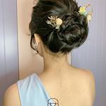 李思穎-中短髮也能有氣質花苞造型