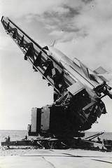 MISSILE PARCA COLOMB BECHAR 1954