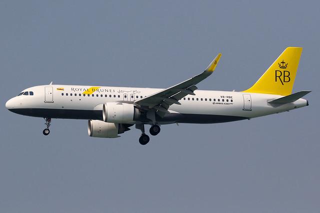 Royal Brunei | Airbus A320-200N | V8-RBE | Hong Kong International