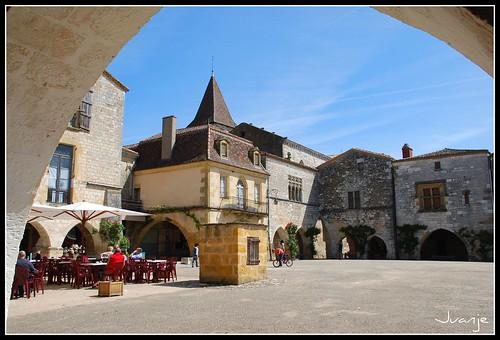 Monpazier (Francia, 3-5-2009)