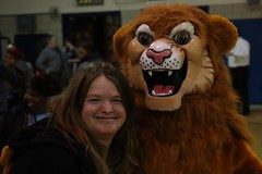 Marlena and the Lion mascot