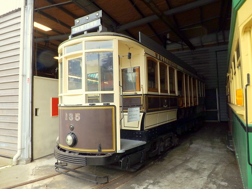 Wellington 135, double saloon tramcar